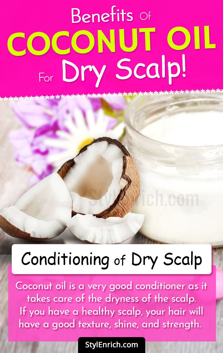 Coconut Oil For Dry Scalp
