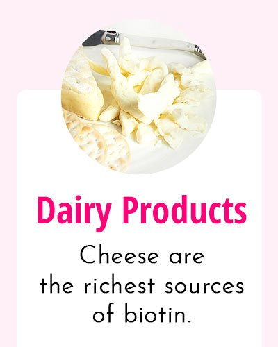 Dairy Products - Biotin Rich Food