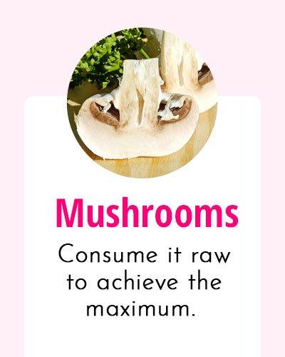 Mushroom - Biotin Rich Food