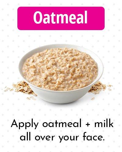 Oatmeal for Dark Spots