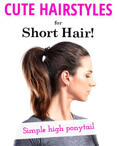 Simple High Ponytail