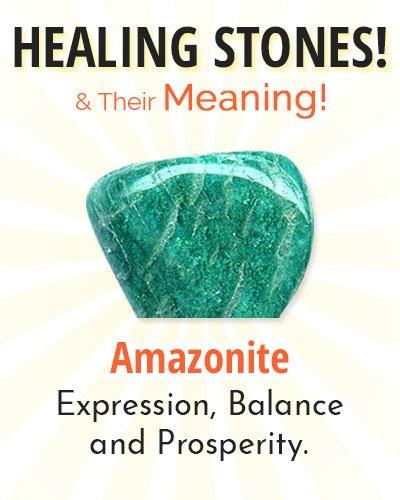 Amazonite Healing Stone