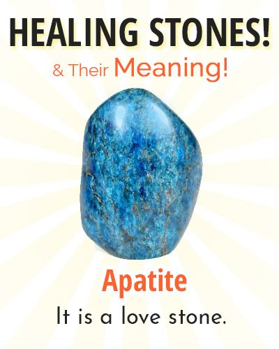 Apatite Healing Stone