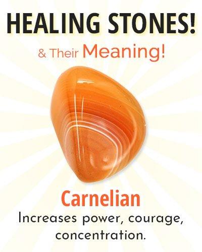 Carnelian Healing Stone