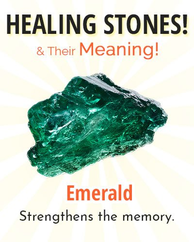 Emerald Healing Stone