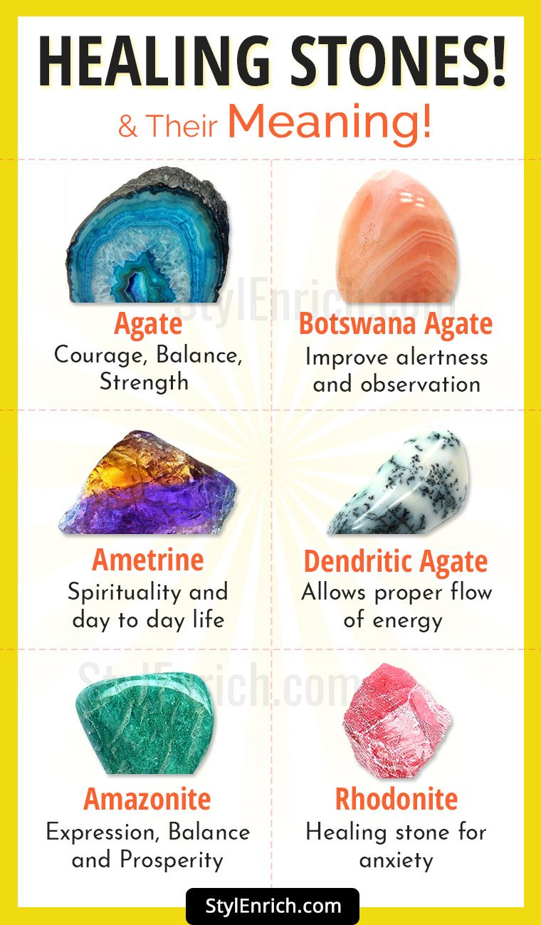 Healing Stones and Healing Stones Meanings