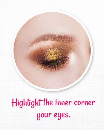 Highlight the inner corner