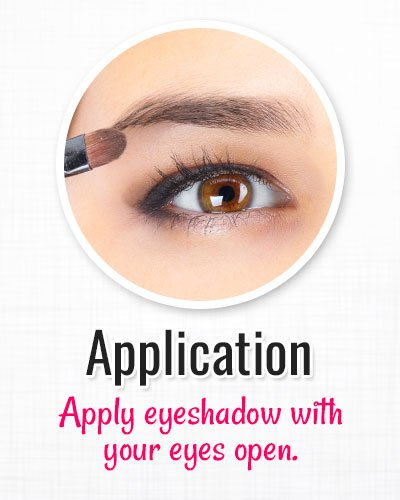 Procedure of Hooded Eye Makeup