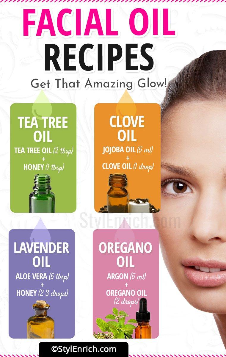 Facial Oil Recipe
