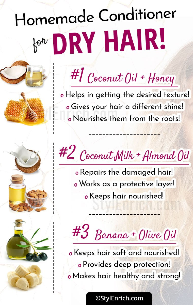 Homemade Conditioner For Dry Hair