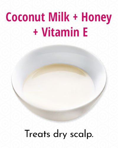 Deep Conditioning With Coconut Milk