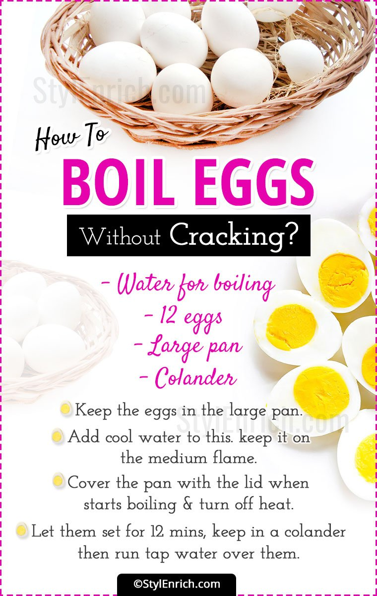 Methods To Not Getting Egg Cracked While Boiling