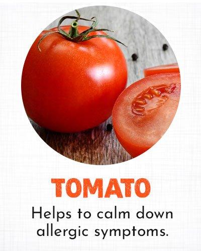 Tomato for Allergy