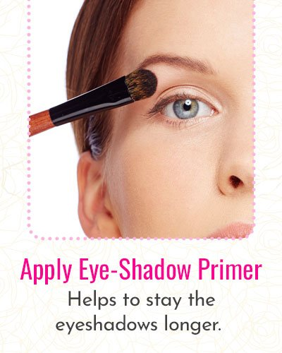 How to apply eyeshadow primer?