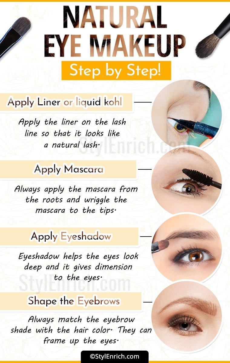 Natural Look Eye Shadow Tutorial Topsimages
