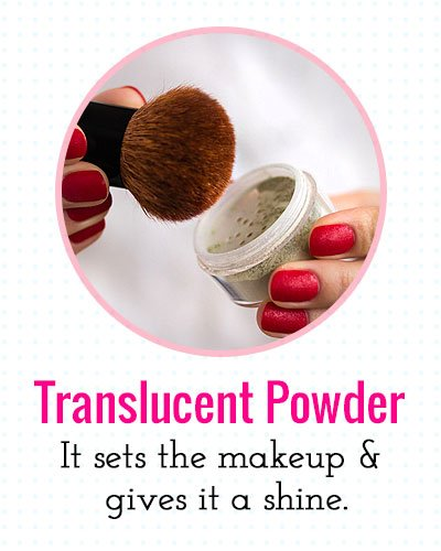 Translucent Powder For Makeup