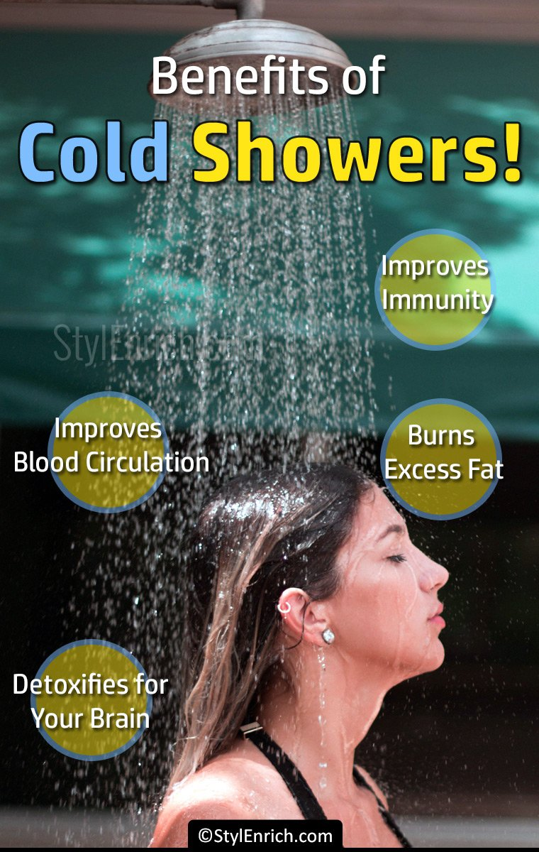 Amazing Benefits of Cold Showers