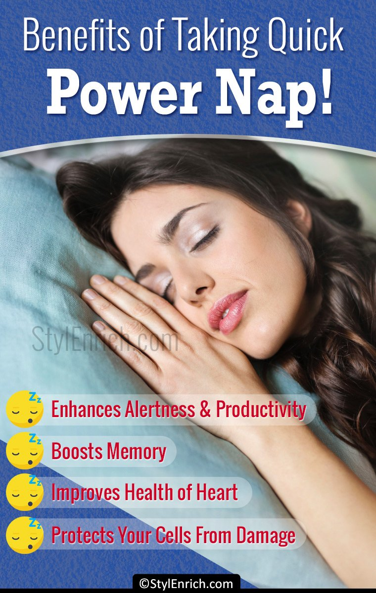 Benefits of Taking Quick Power Nap