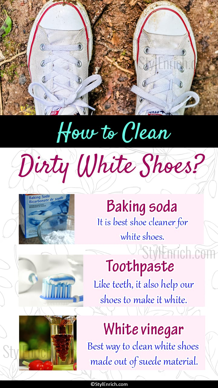 How To Clean Dirty White Shoes at Home?