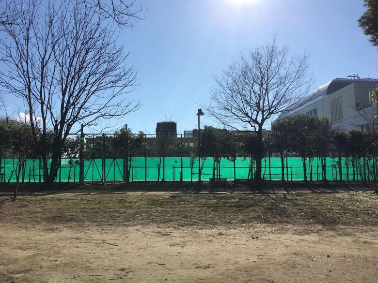 03_tennis court tokyo komabano 2