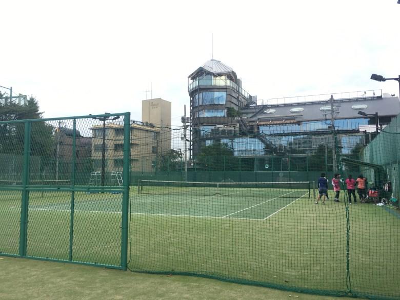 azabu tennis court artificial grass