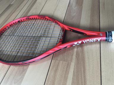 style of tennis yonex vcore 98 2