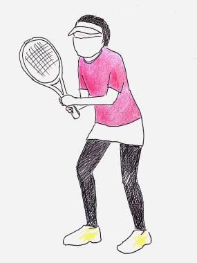 style of tennis obasan tennis 1