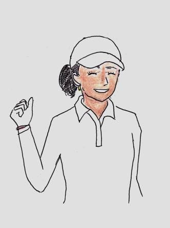 style of tennis obasan tennis 4