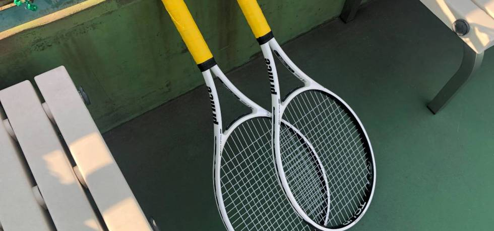 style of tennis prince tour 100 racket review