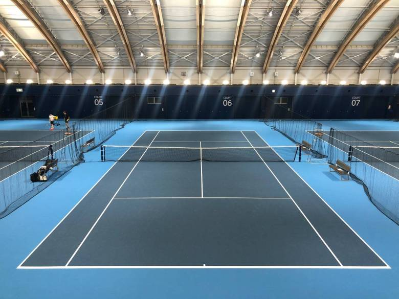 style of tennis ariake tennis park indoor 1