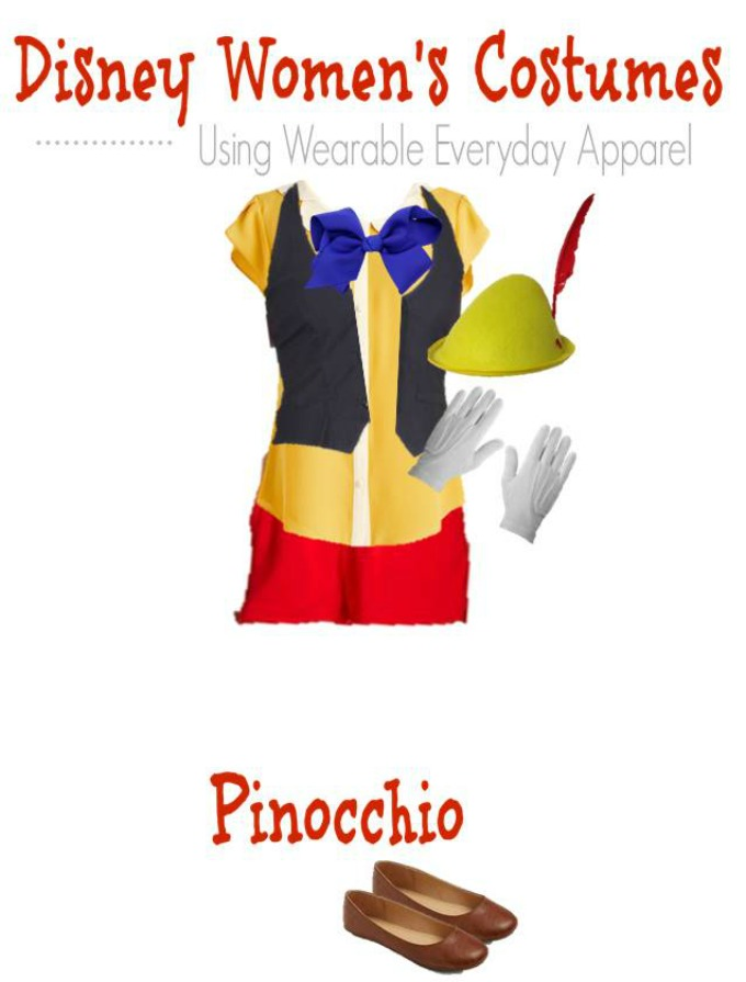 DIY Pinocchio Halloween Costume for Women
