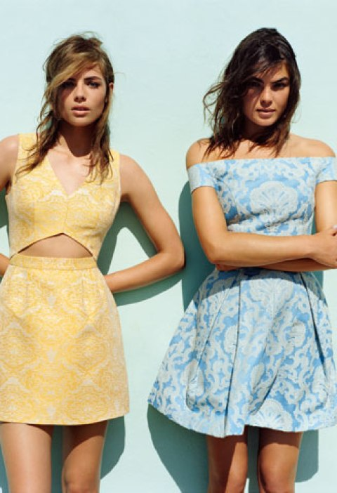 fashion trends, feminine fashion, forever 21, forever new, high street fashion, river island, romantic style, spring/summer 2013 fashion trends, topshop, valentine's day style