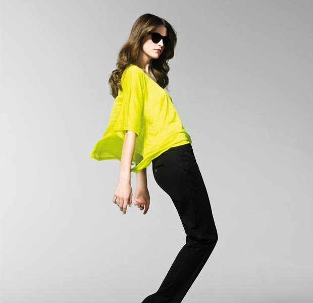 Bright Fashion Colors, fashion trends, H & M, high street fashion brands, pop colours for summer, mango, pop colors, spring/summer 2013, summer, United colors of benetton, zara