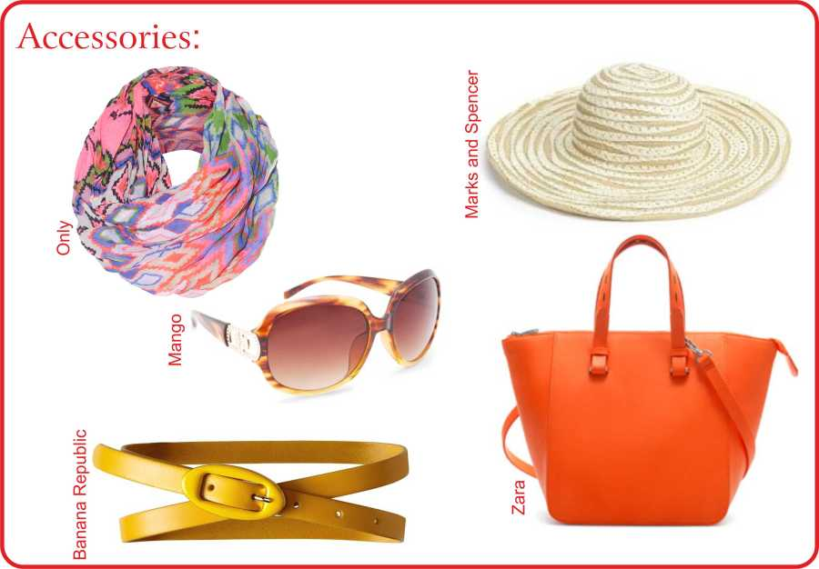 Packing List, Fashion accessories, Banana Republic, cubus, forever new, H&M, mango, Only, summer fashion, travel, Tropical Travel, zara, Style, Tropical Travel Guide