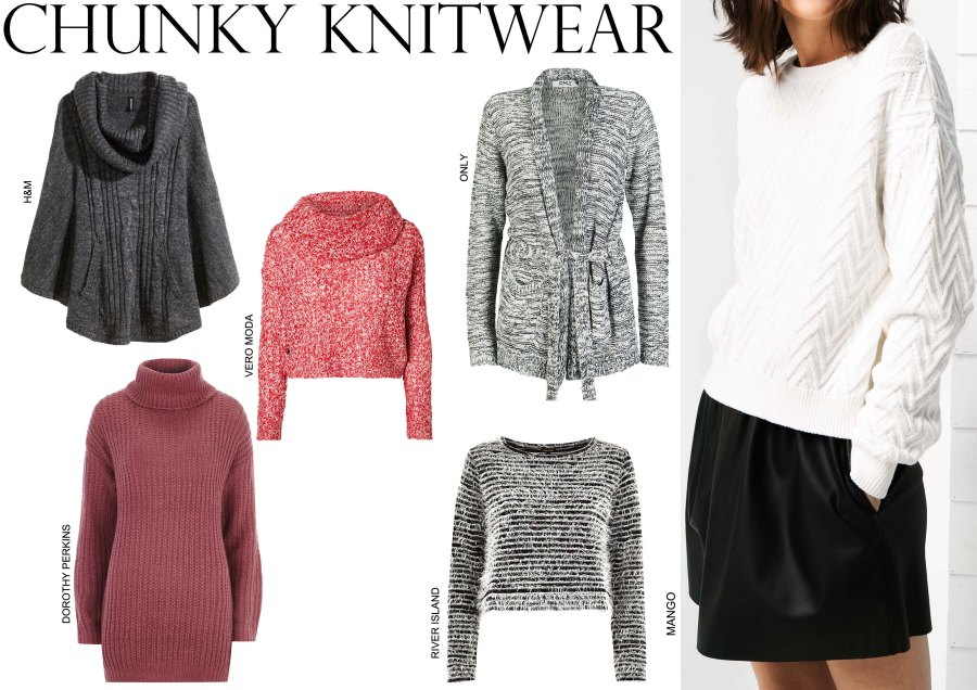 Autumn/Winter 2014-15 Fashion trends, Fall Fashion Must-Haves, Winter Fashion Essentials, Winter Style, Winter outfits, Fall look, Chunky knit sweater