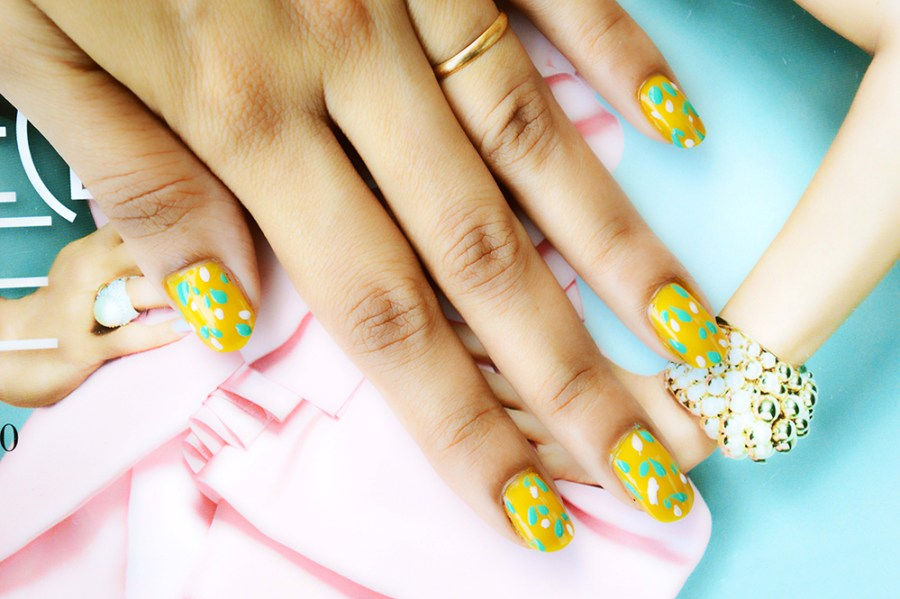 Nail Art, Beauty, DIY Fashion, Fashion, Fashion Bloggers, Style, Indian Fashion Blogger, Beauty Blogger, Spring Nail Art-4