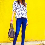 Fashion, Style, Fashion Photography, Fashion Blogger, Street Style, Outfit of the day, OOTD, Zara Pumps, Cat print, Red pumps, Accessorize Bag, Promode Sunglasses