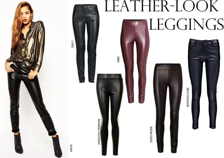 Autumn/Winter 2014-15 Fashion trends, Fall Fashion Must-Haves, Winter Fashion Essentials, Winter Style, Winter outfits, Fall look, leather leggings, PU leggings