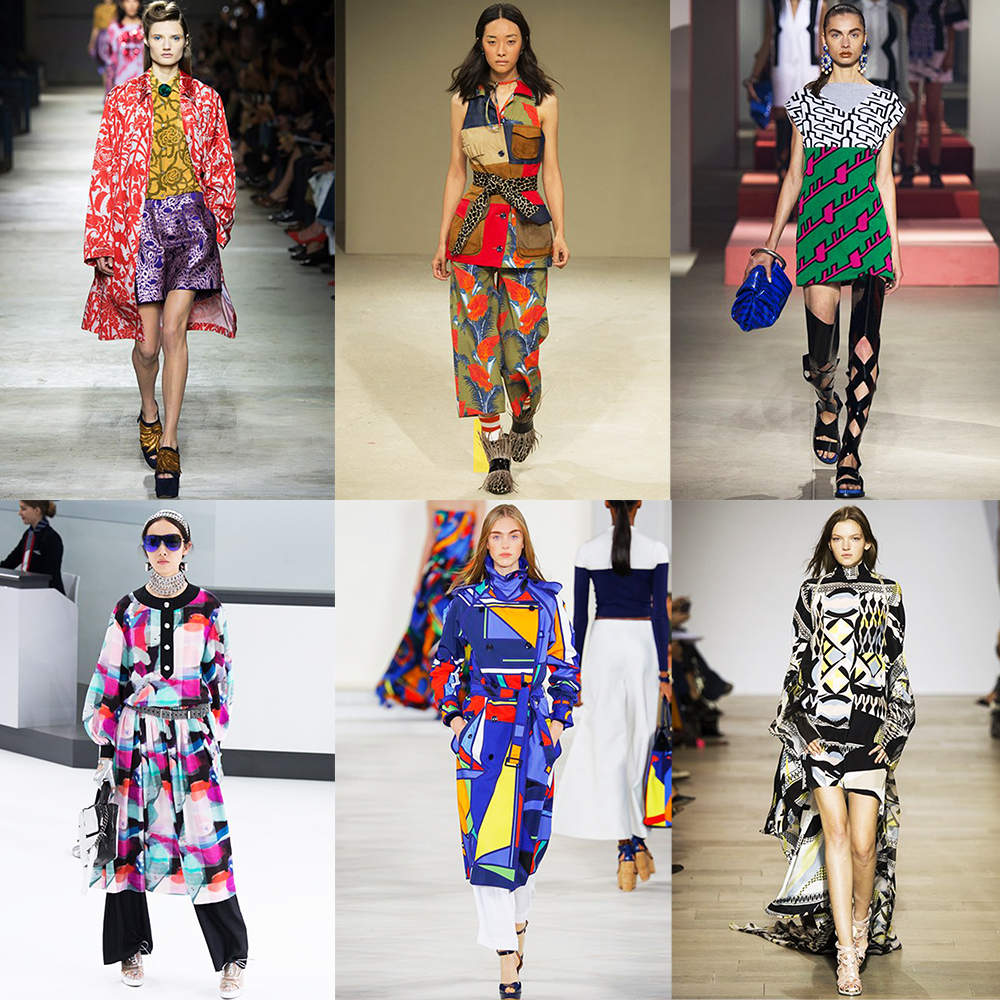 Fashion, Style, Fashion, Style, Indian Fashion Blogger, Style over coffee, Fashion trends, Runway Fashion Trends, Spring Summer 2016, Summer Fashion 2016, Spring Summer 2016 Fashion trends, Vogue UK, Print trend from spring summer 2016 runway, crazy graphic patterns for summer 2016