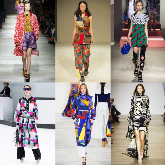 Fashion, Style, Indian Fashion Blogger, Style over coffee, Fashion trends, Runway Fashion Trends, Spring Summer 2016, Summer Fashion 2016, Spring Summer 2016 Fashion trends, Vogue UK, Print trend from spring summer 2016 runway, crazy graphic patterns for summer 2016