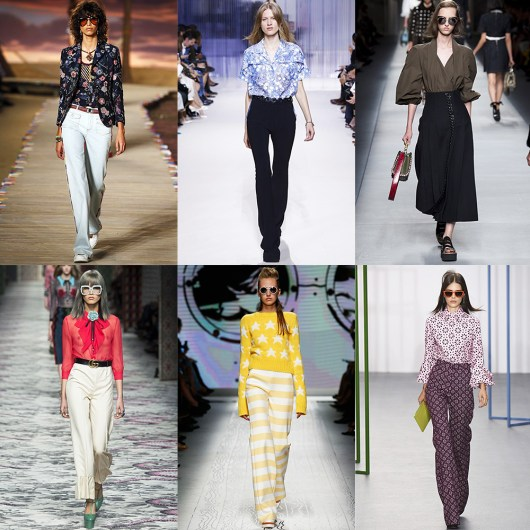 Fashion, Style, Indian Fashion Blogger, Style over coffee, Fashion trends, Runway Fashion Trends, Spring Summer 2016, Summer Fashion 2016, Spring Summer 2016 Fashion trends, Vogue UK, Retro Fashion, Wid legged pants, retro style looks from summer 2016