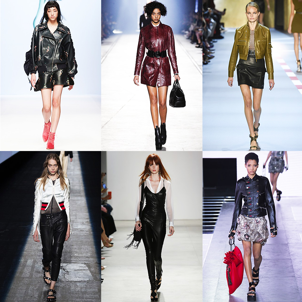 Fashion, Style, Indian Fashion Blogger, Style over coffee, Fashion trends, Runway Fashion Trends, Spring Summer 2016, Summer Fashion 2016, Spring Summer 2016 Fashion trends, Vogue UK, Street smart look from summer 2016 runway, leather outfits