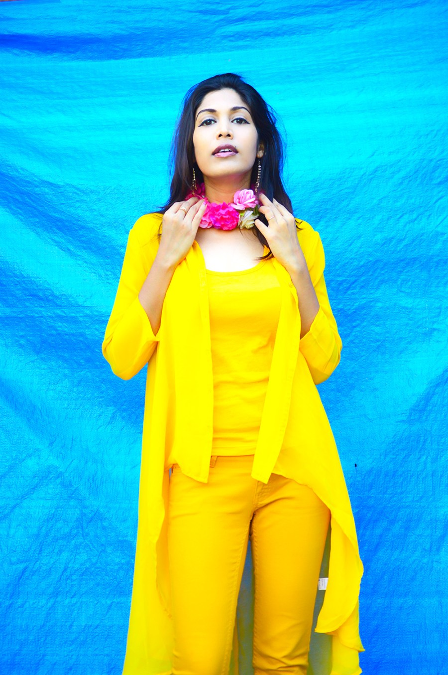 Fashion, Style, Street Style, Fashion Photography, Summer Fashion, Indian Fashion Blogger, Fashion Blogger, Yellow Shrug, Yellow Outfit, Summer Colours, Style Over Coffee, Beauty-5