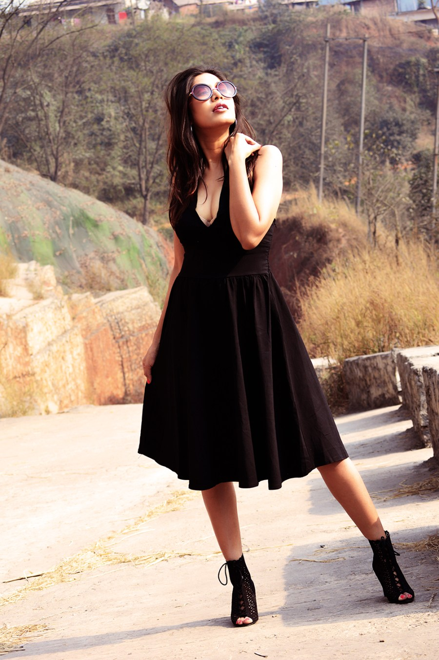 Fashion, Beauty, Lifestyle, Style, Photography, Little Black Dress, Street Style, LBD, Indian Fashion Blogger-6