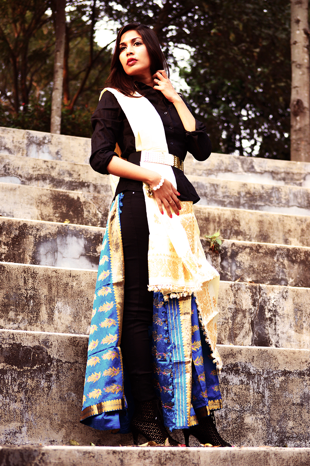 Indian attire, Fashion, Style, Photography, Fashion Blogger, Festive Outfit-6