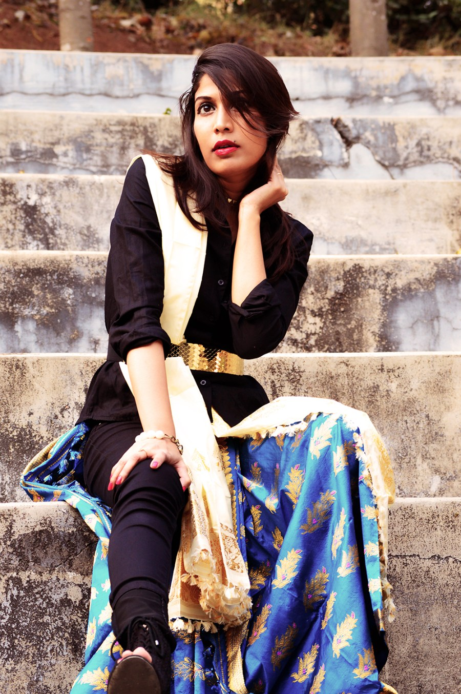 Indian attire, Fashion, Style, Photography, Fashion Blogger, Festive Outfit-4
