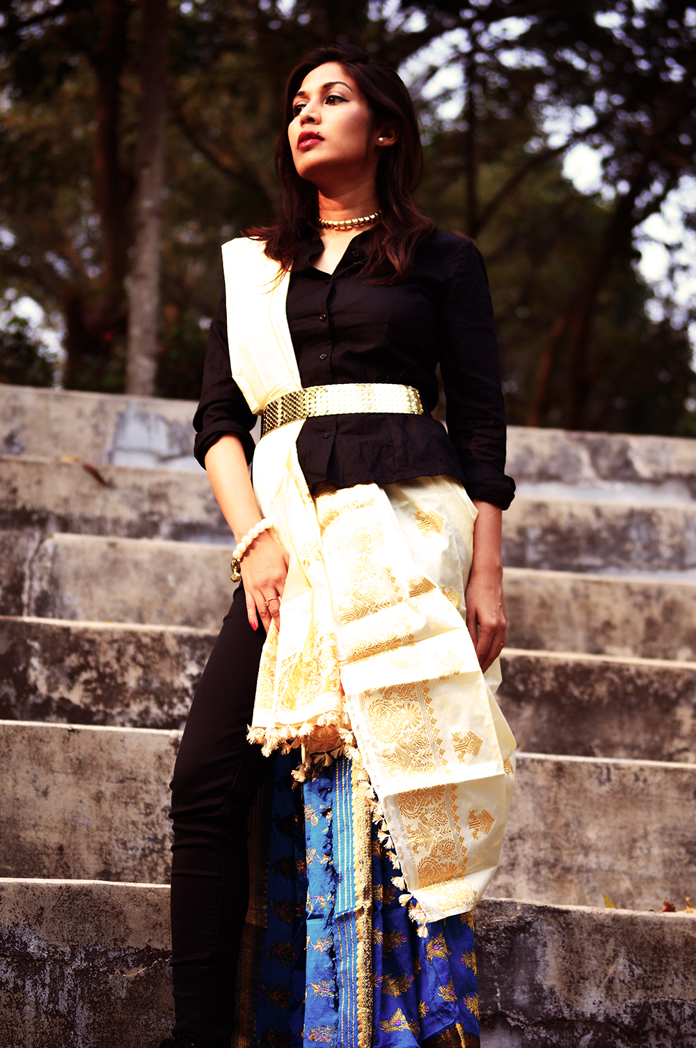 Indian attire, Fashion, Style, Photography, Fashion Blogger, Festive Outfit-1