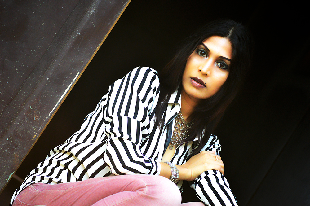 Powder Pink. Corduroy Pants, Fashion, Style, Indian Fashion Blogger, Photography, Stripes-4