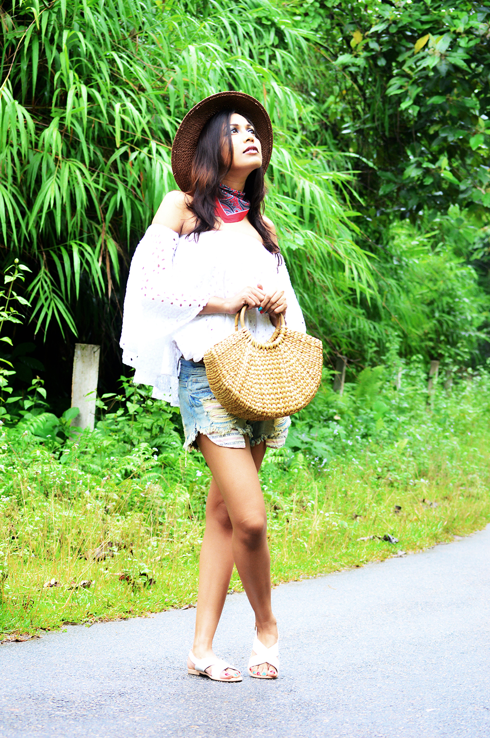 Fashion, Style, Distressed Denim, Denim Shorts, Summer Fashion, Fashion Blogger, Fashion Photography-6