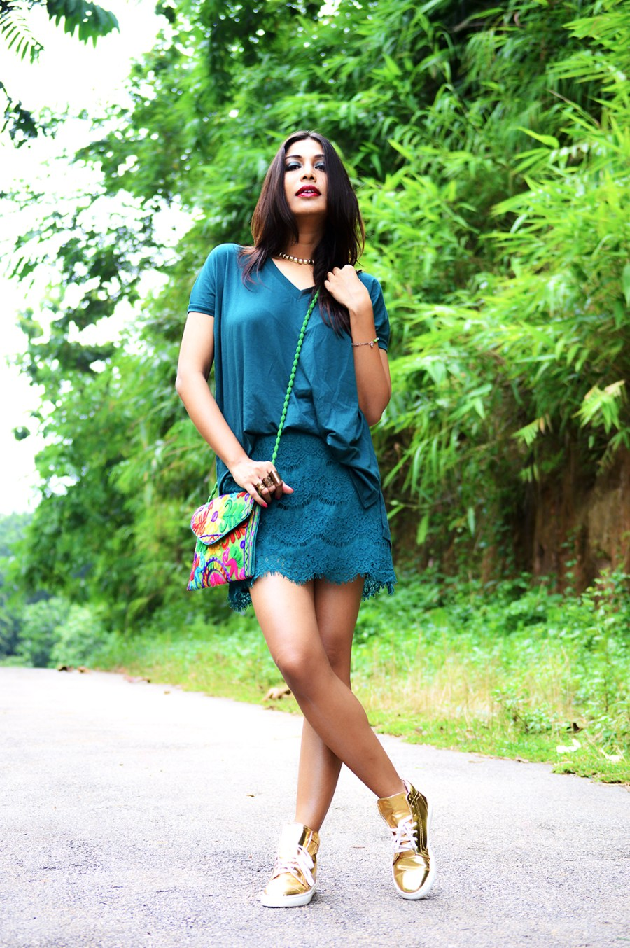 Fashion, Style, Photography, Green, Beauty, Lifestyle, Indian Fashion Blogger-5